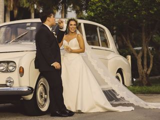 The wedding of Arianna and Daniel