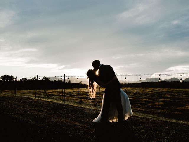 The wedding of Jordan and Aaron