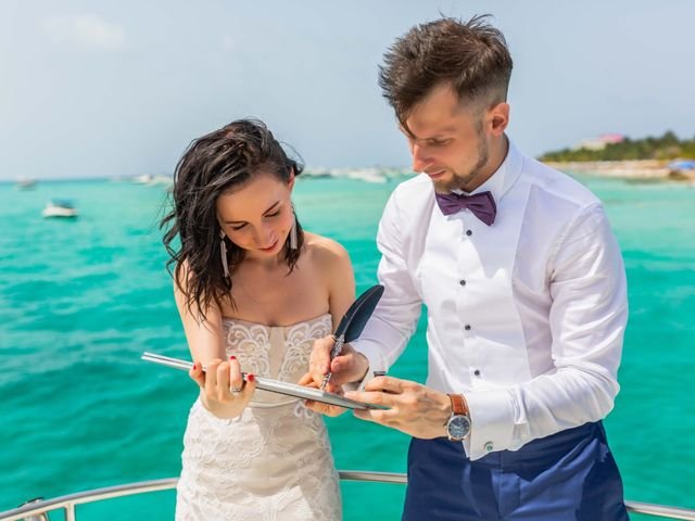 Andrey and Ksenia's Wedding in Cancun, Mexico 7
