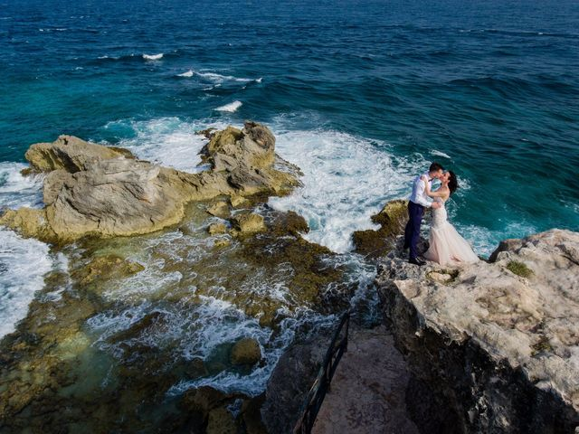 Andrey and Ksenia's Wedding in Cancun, Mexico 8