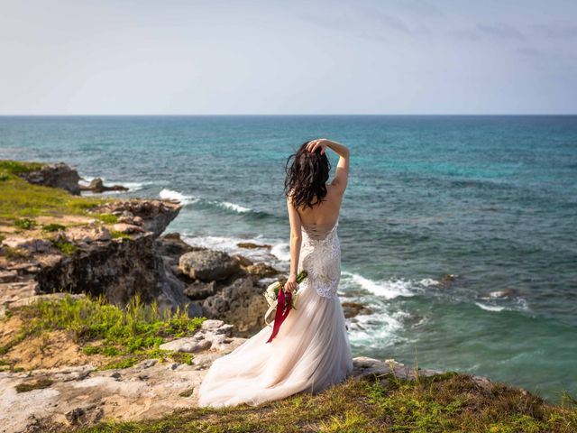 Andrey and Ksenia's Wedding in Cancun, Mexico 10