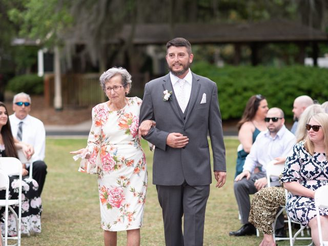 Patrick and Jacquelyn's Wedding in Murrells Inlet, South Carolina 22