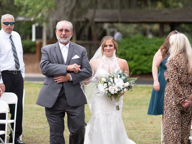 Patrick and Jacquelyn's Wedding in Murrells Inlet, South Carolina 25