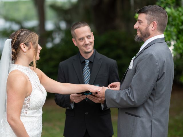 Patrick and Jacquelyn's Wedding in Murrells Inlet, South Carolina 33