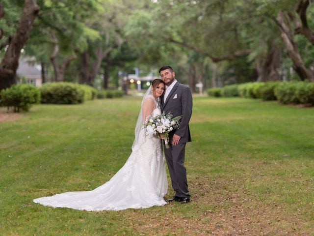 Patrick and Jacquelyn's Wedding in Murrells Inlet, South Carolina 56