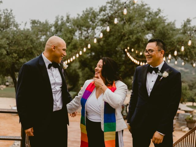Ruben and Shawn's Wedding in Helotes, Texas 1