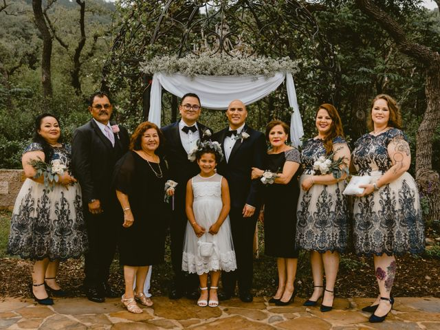Ruben and Shawn's Wedding in Helotes, Texas 12