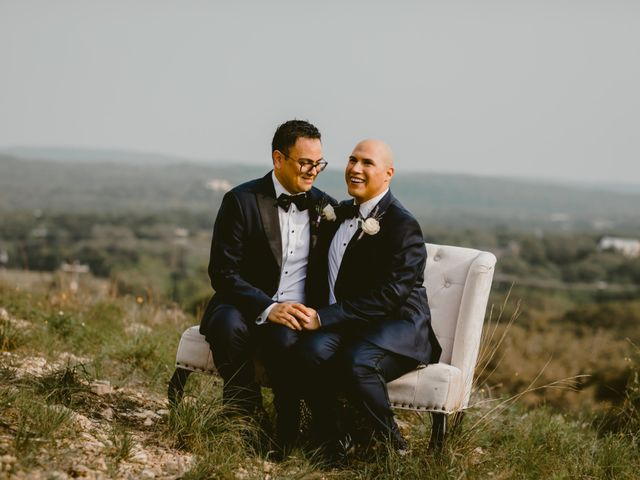 Ruben and Shawn's Wedding in Helotes, Texas 13