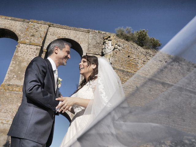 The wedding of Cecilia and Manuel