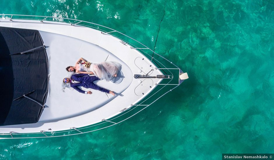 Andrey and Ksenia's Wedding in Cancun, Mexico