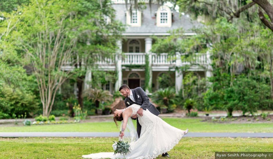 Patrick and Jacquelyn's Wedding in Murrells Inlet, South Carolina