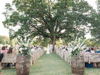 The wedding of Lawson and Kayla