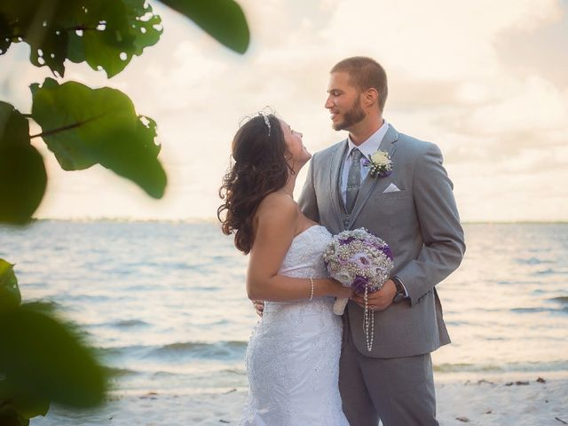 The wedding of Chelsey and Chris