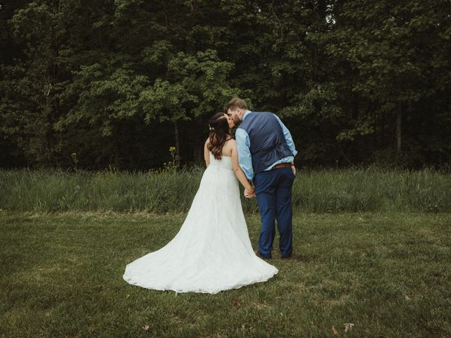 The wedding of Leah and Trenton