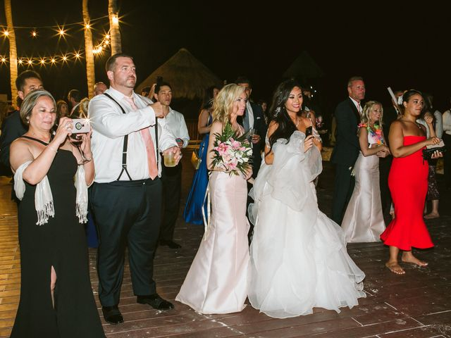 Stephen and Michelle's Wedding in Cancun, Mexico 7