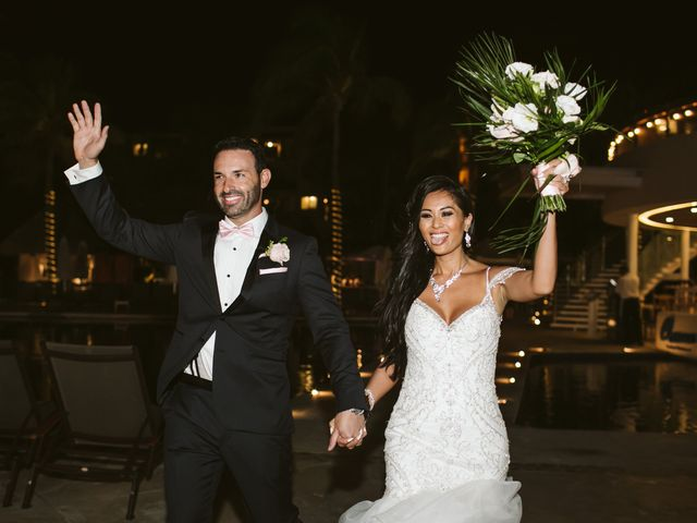 Stephen and Michelle's Wedding in Cancun, Mexico 23