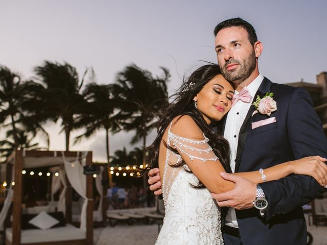 Stephen and Michelle's Wedding in Cancun, Mexico 26
