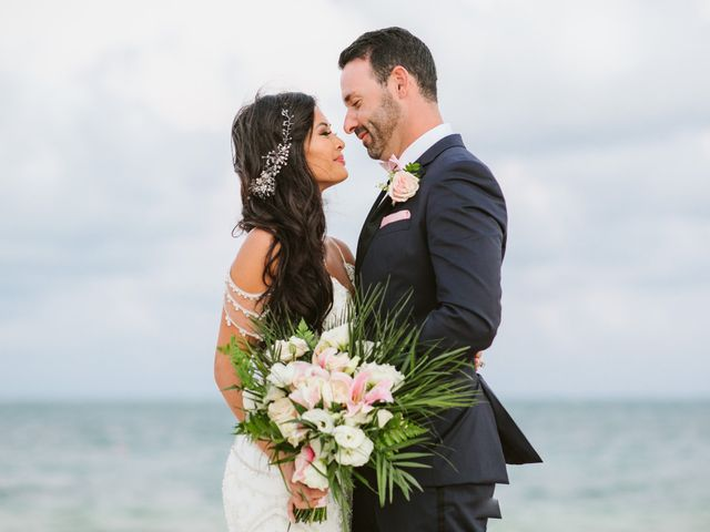 Stephen and Michelle's Wedding in Cancun, Mexico 28