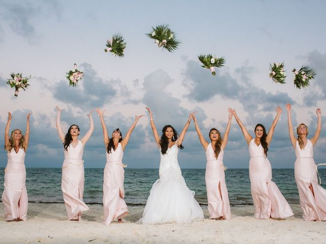 Stephen and Michelle's Wedding in Cancun, Mexico 29