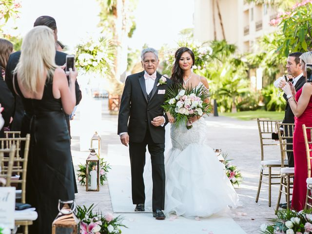 Stephen and Michelle's Wedding in Cancun, Mexico 65