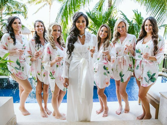 Stephen and Michelle's Wedding in Cancun, Mexico 74