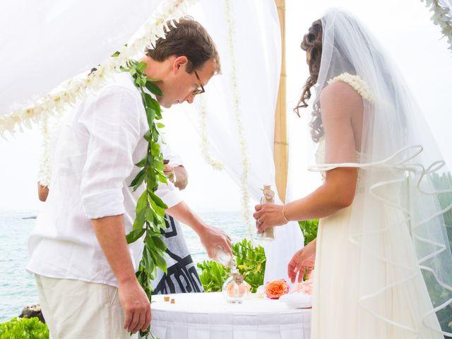 Lauren and Jarratt's Wedding in Waikoloa, Hawaii 18