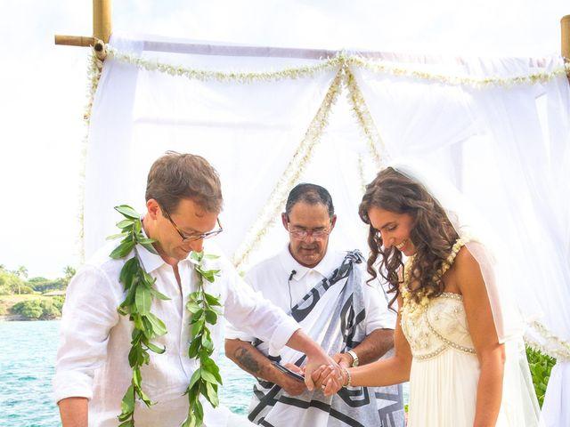 Lauren and Jarratt's Wedding in Waikoloa, Hawaii 19
