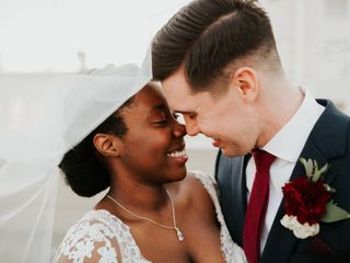 The wedding of Grace and Matthew