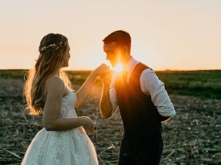 The wedding of Savannah and Dakota 1