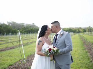 The wedding of Wanda and Colon 2