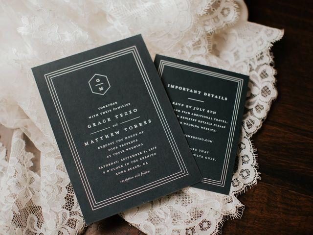 Matthew and Grace's Wedding in Long Beach, California 12