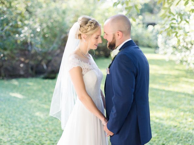 The wedding of Courtney and Tyler
