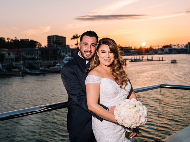 The wedding of Leticia and Moe
