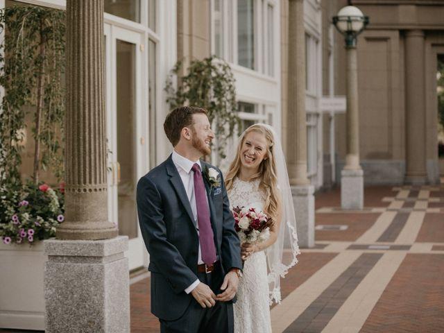 The wedding of Elizabeth and Andrew