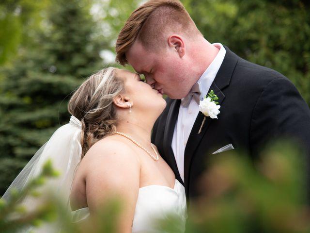 The wedding of Josh and Stephanie