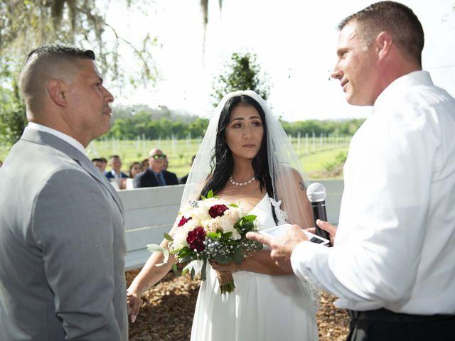 Colon and Wanda's Wedding in Minneola, Florida 6