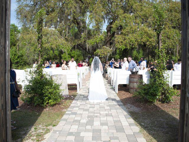 Colon and Wanda's Wedding in Minneola, Florida 7
