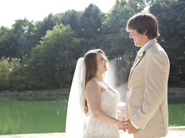 The wedding of Nicholas and Melissa
