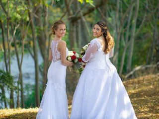 The wedding of Briana and Cassandra