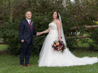 The wedding of Erika and Ryan