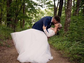 The wedding of Sam and Kody