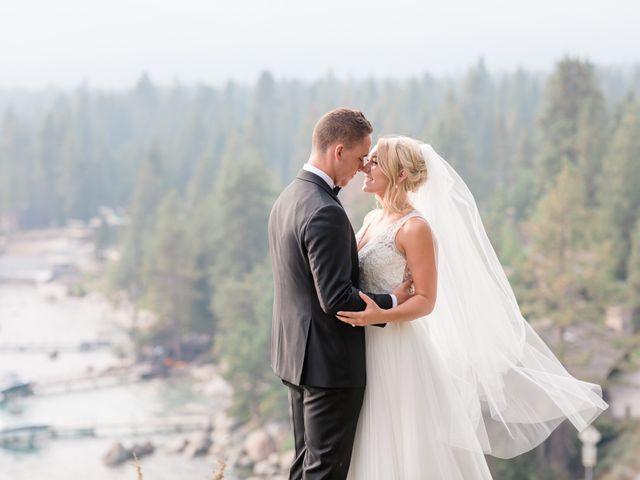 Brookelynn and Brandon's Wedding in Incline Village, Nevada 1