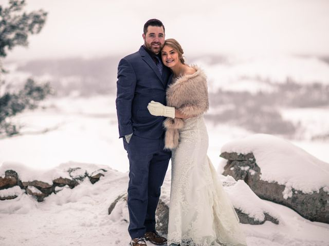 Shelby and Tyler's Wedding in Silverthorne, Colorado 1