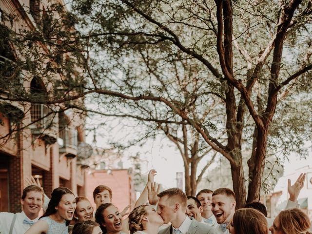 Brady and Makena's Wedding in Wichita, Kansas 10