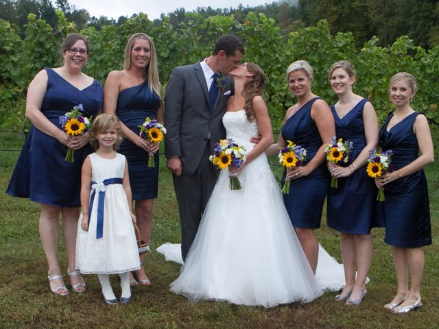 Laura and Chris's Wedding in Faber, Virginia 7