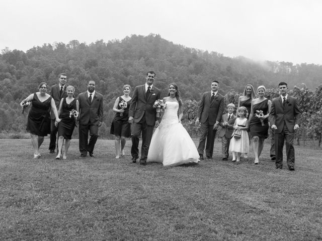 Laura and Chris's Wedding in Faber, Virginia 10