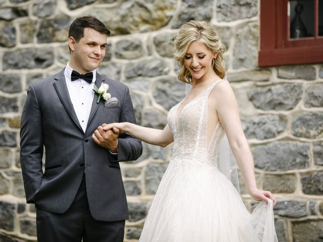 The wedding of Kelsey and James