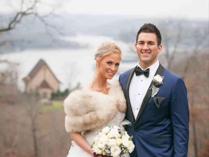 The wedding of Joe and Tara