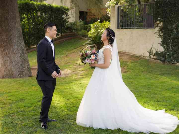 The wedding of Henry and Melissa