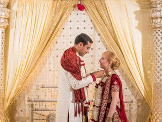 The wedding of Ravi and Mallory